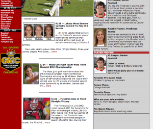 Lakota West Firebirds Front Page Articles